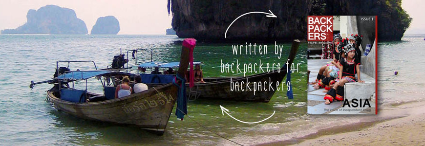 Backpackers Asia Magazine