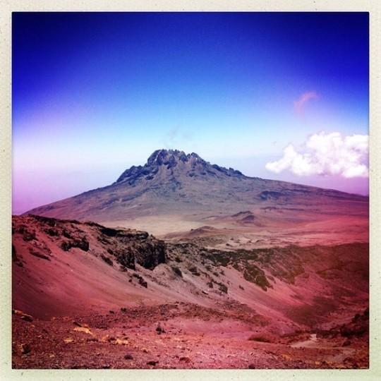 Climbing Kilimanjaro Mt. Mowenzie