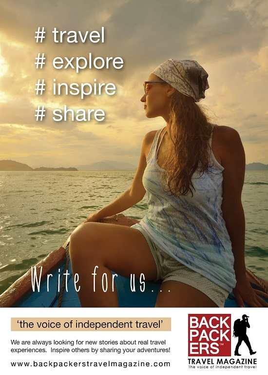 Become a travel writer.