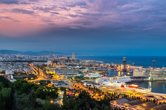 Barcelona in Spain for Digital Nomads