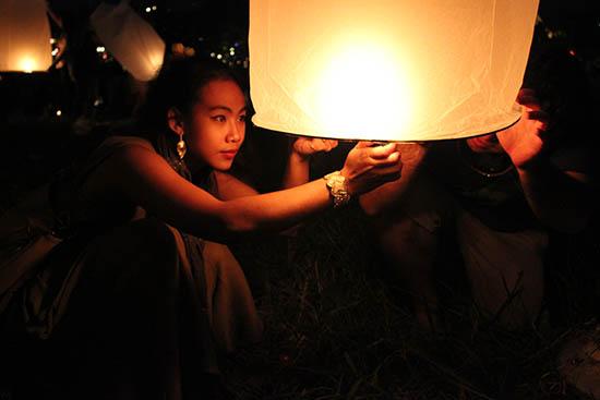 YI Peng & Loi Khratong Festival,Chiang Mai.