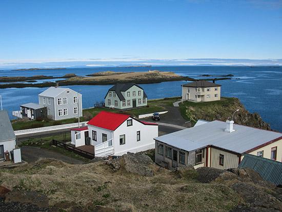 Stykkishólmshöfn, Iceland.