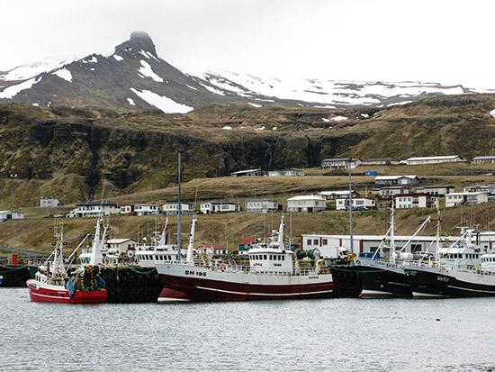 Olafsvikur Harbour, Iceland.