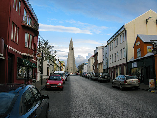Hallgrimskirkja Church in Reykjavík