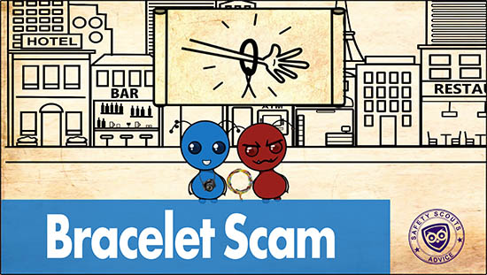 Bracelet Scam - Safety Scouts Advice.