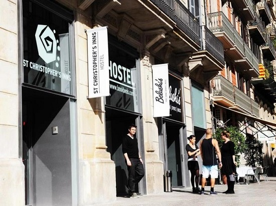 Hostel St Christophers Barcelona in Spain