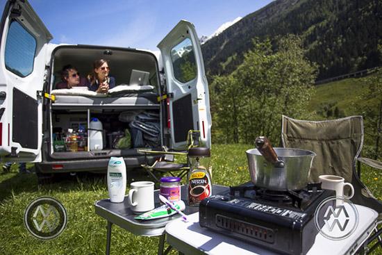 Europe camper van austria