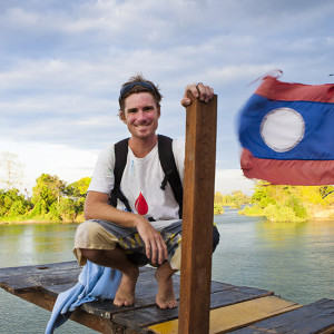 Micah Wright in Cambodia