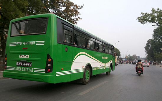 Nepal transport for backpackers