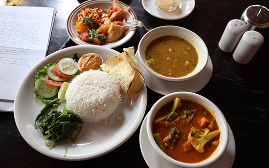 Nepal food for backpackers