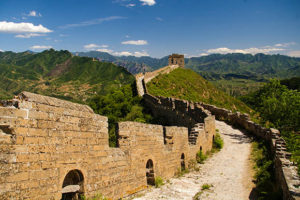Great Wall at Simatia, China.