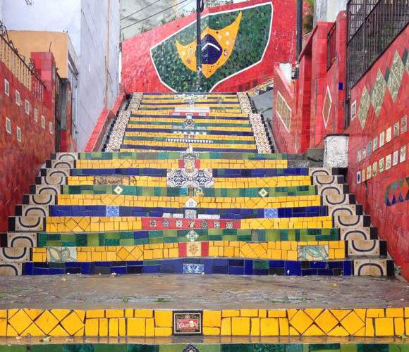 Steps in Brazil.