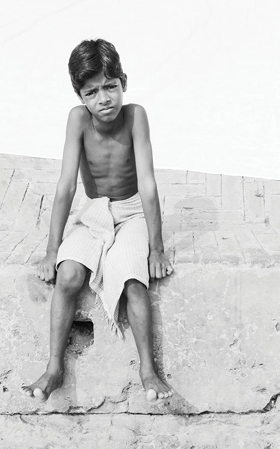 Travelling through the lens - India boy