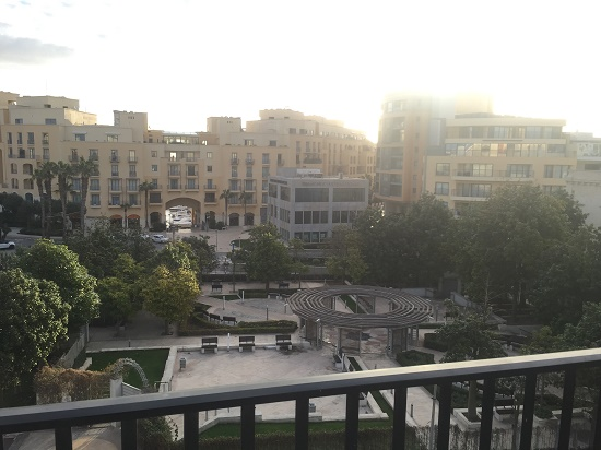 View From Hostel in Malta