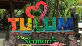 Tulum a Beautiful Village on the Caribbean Coastline of Mexico
